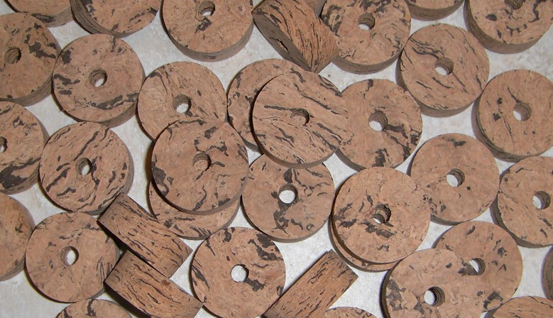 Natural Wave Cork Rings
