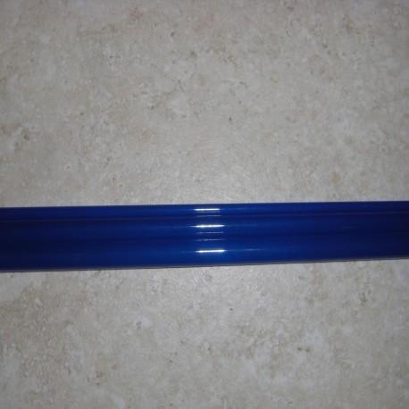 """青 5WT 8'6""""3 ピース半透明ファイバーグラス空白"""