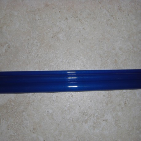 """蓝 5WT 8'6""""3 片半透明玻璃纤维空白"""