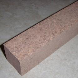 """Burl moucheté Cork bloque 1,5 """"x 1,5"""" x 12 """""""