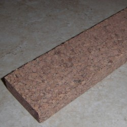 "Speckled Burl Cork strip 0.5 ""x 1.5"" x 12 """