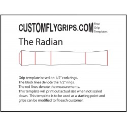 Radian Free Grip Template