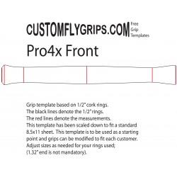 "12"" Pro4x Spey Grip gratuit Template"