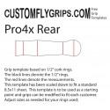 Arrière Pro4x Spey Grip gratuit Template