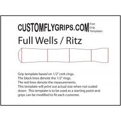 Volledige Wells / Ritz gratis Grip sjabloon
