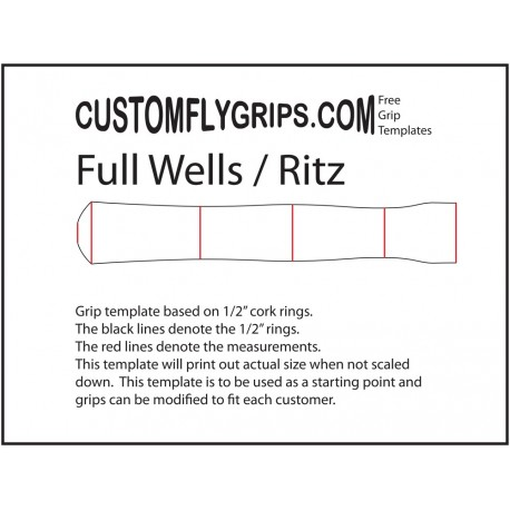 Full Wells / Ritz Free Grip Template