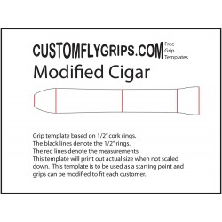 Modified Cigar Free Grip Template