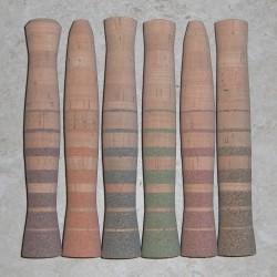 Flor Grade Premium Burl Stripe Grips