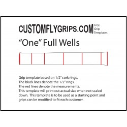 One Full Wells Grip Template
