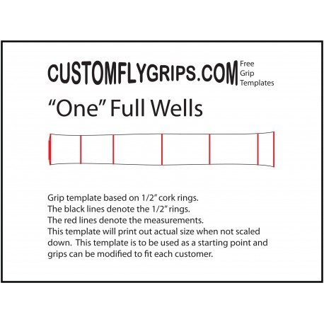 laminated fly grip templates custom fly grips llc