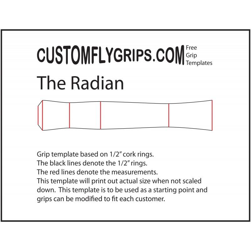 Laminado de plantillas de control mosca - Custom Fly Grips LLC