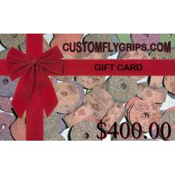 Tarjeta de regalo de $400