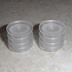 20mm zelf afdichten invoegen (past de meeste 1 oz flessen)
