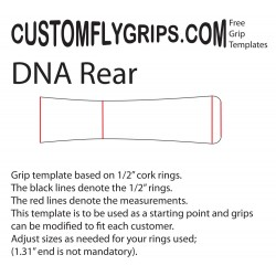 DNA Rear Free Grip Template