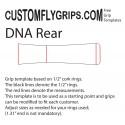 Matrice d'ADN arrière poignée libre