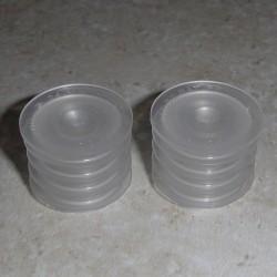 24mm själv tätning infoga set (passar de flesta 2, 4, & 8 oz flaskor)