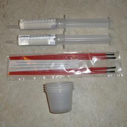 ThreadMaster 12 mL 注射器、カップ、ブラシ ・ ヘラ