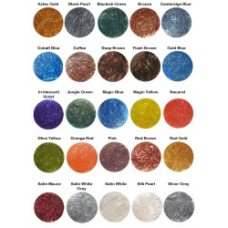 Metalen lijm pigmenten, beperkte tijd 5 X meer