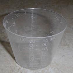 1 oncia epossidico e finitura miscelazione tazze (100 Count)