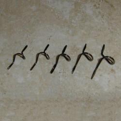 Alpes alambre estándar doble de TiCH pie serpiente volar guías