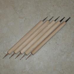Marmorikuviointi työkalu 5-osainen