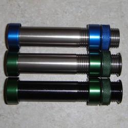 W/embutido de alumínio usinado Reel Seat triangular capô/TR-TiCh