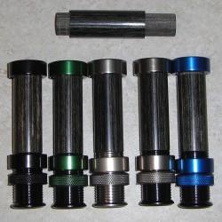 Prévision de A8 Insert ébène aluminium mouche moulinet (6-10 WT)