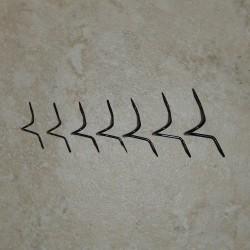 Prognos Standard Wire svart dubbel fot orm flyga guider