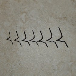 Prognose, dass Standard-Draht schwarz Doppel Fuß lange Schlange Guides fliegen