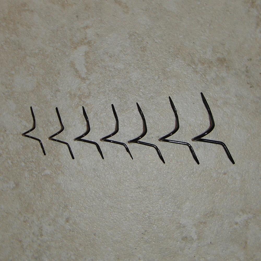 Prognose, dass Standard-Draht schwarz Doppel Fuß lange Schlange ...