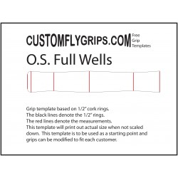 Oversize volledige Wells gratis Grip Template