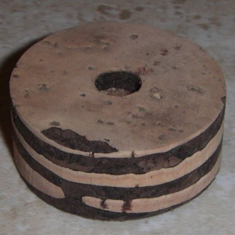 Striped Cork Rings 1/2""
