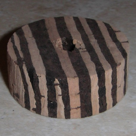 "Gestreifte Cork Ringe 1/2"""