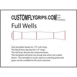 Fuld Wells gratis Grip skabelon