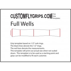 Full Wells Free Grip Template