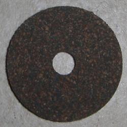 """Gummierte Cork Ringe 1/8"""" mit 1/4"""" Mittelloch"""