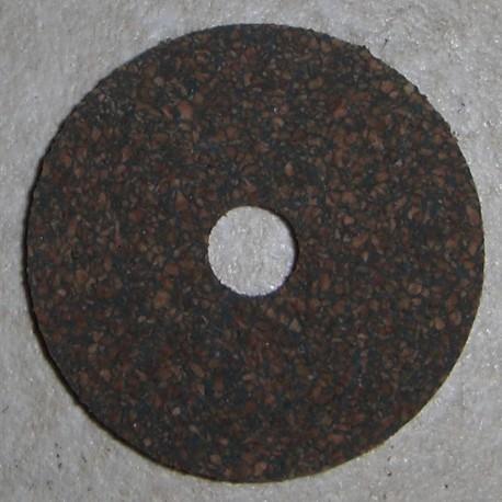 """橡胶的软木环 1/4""""1/4"""" 中心孔"""