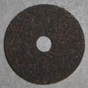 """Bagues en liège caoutchouté 1/8"""" à 1/4"""" trou central"""