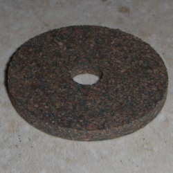 "Rubberized Cork Rings 1/8"" with 1/4"" Center Hole"