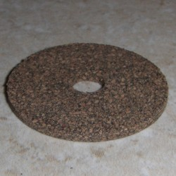 "Rubberized Cork Rings 1/16"" with 1/4"" Center Hole"