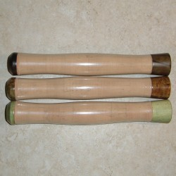Wood Trimmed Cork Reverse Half Wells Grips