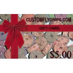 $5 cartão de presente