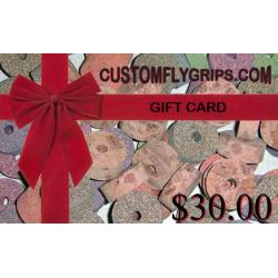 $30 cartão de presente