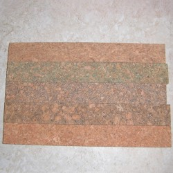 "Burl Cork strip 0.5 ""x 1.5"" x 12 """