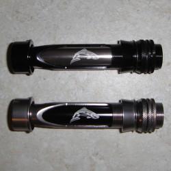 Segitiga aluminium Machined kekili kerusi w/tersembunyi hood/TR-TiCh