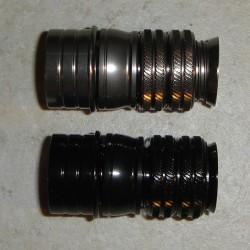 B101 luuranko Brass kromi pinnoitus w/cap-nikkeli hopea, Satiini Rosewood lisää