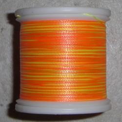FishHawk variaciones abigarradas del hilo de rosca 100 yardas
