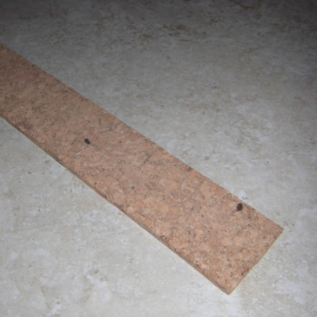 "Burl Cork strip 0.25 ""x 1.5"" x 12 """