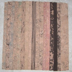 "Burl Cork Strips 0.125"" x 1.5"" x 12"""