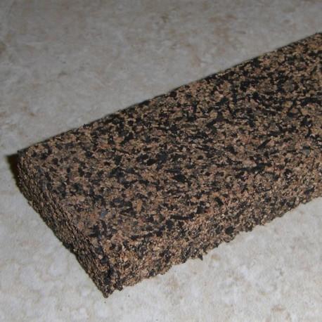 """橡胶的软木条 0.5 英寸 x 1.5 英寸 x 12"""""""